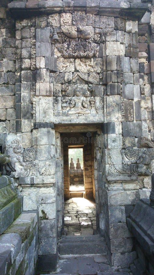 Área de templo de Sewu foto de archivo