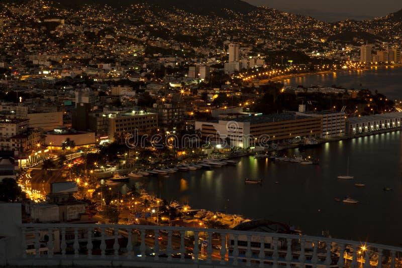 Área de Zocolo de Acapulco foto de stock