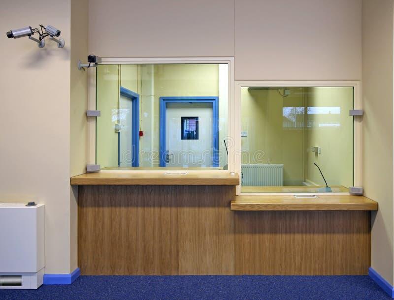 Área del Admin de la oficina imagen de archivo libre de regalías