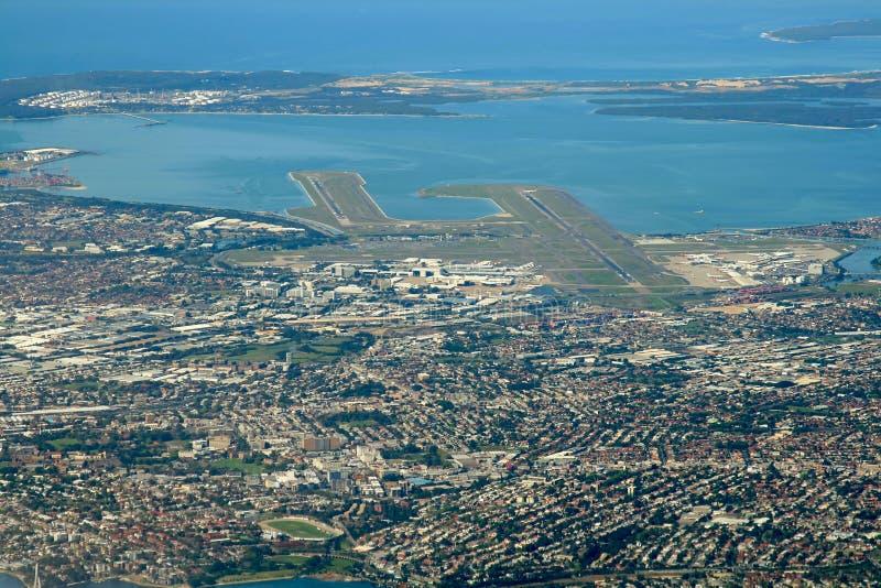 Área del aeropuerto de Sydney imagen de archivo