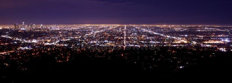 Área del metro de Los Ángeles fotos de archivo