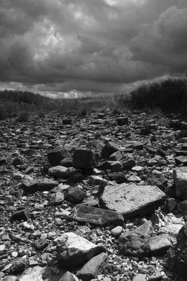 Área deserta imagens de stock