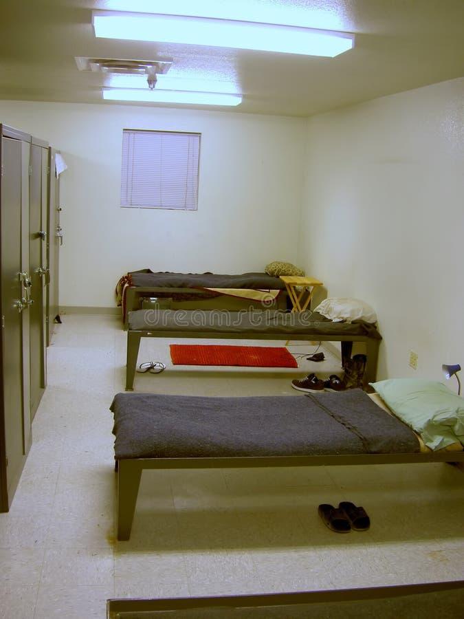Área do sono da prisão fotos de stock royalty free