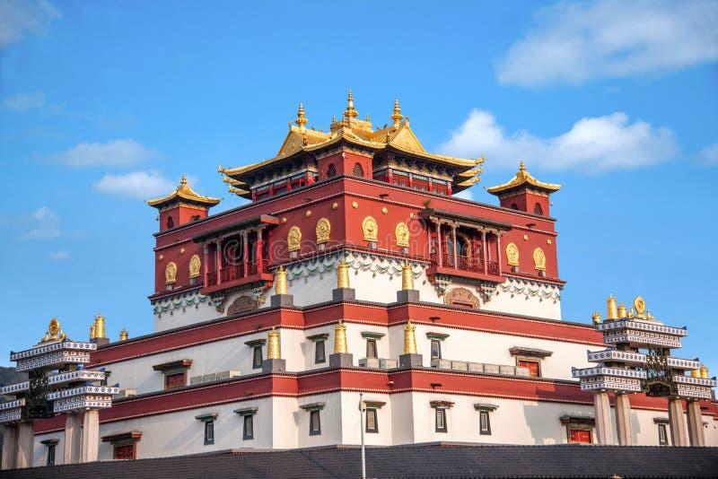 Área escénica cinco Yin Tan City de Buda del gigante de Wuxi Lingshan fotografía de archivo libre de regalías