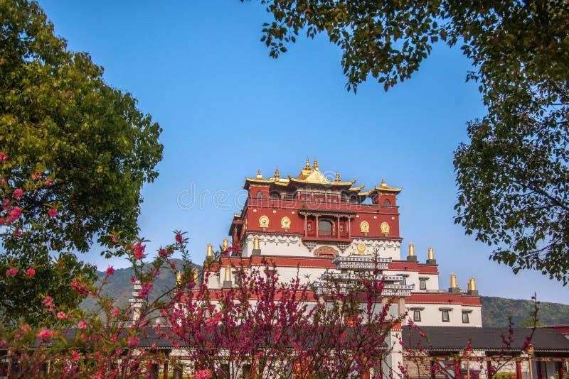 Área escénica cinco Yin Tan City de Buda del gigante de Wuxi Lingshan imágenes de archivo libres de regalías