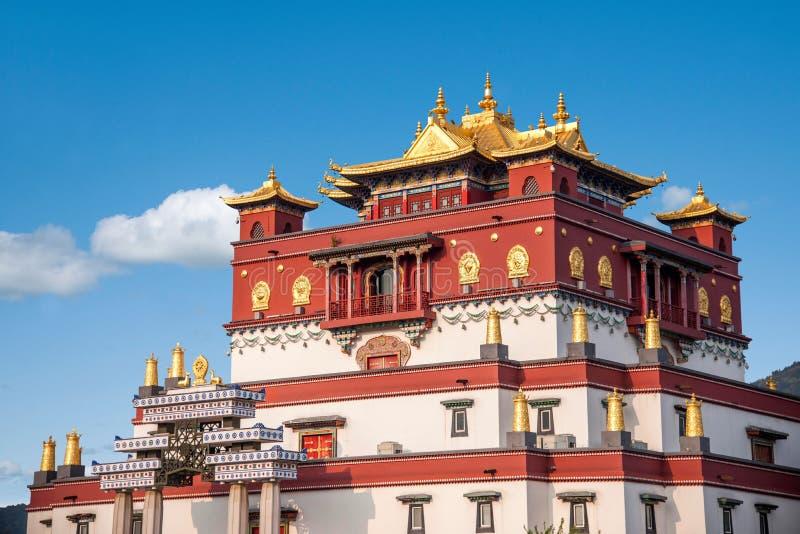 Área escénica cinco Yin Tan City de Buda del gigante de Wuxi Lingshan fotografía de archivo