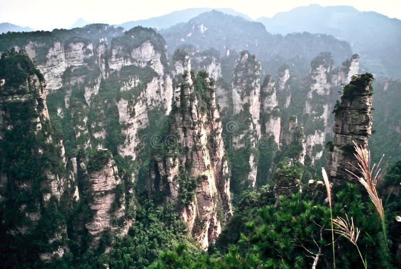 Área escénica de Wulingyuan, China imágenes de archivo libres de regalías