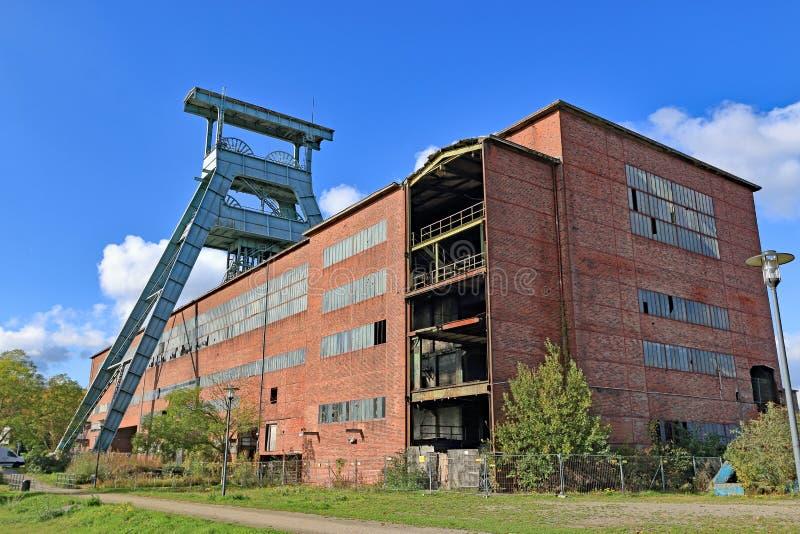 Área histórica do Ruhr, colliery, minha Ewald, Alemanha imagens de stock