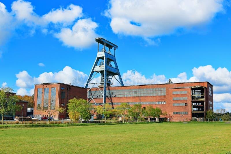 Área histórica do Ruhr, colliery, minha Ewald, Alemanha fotografia de stock royalty free