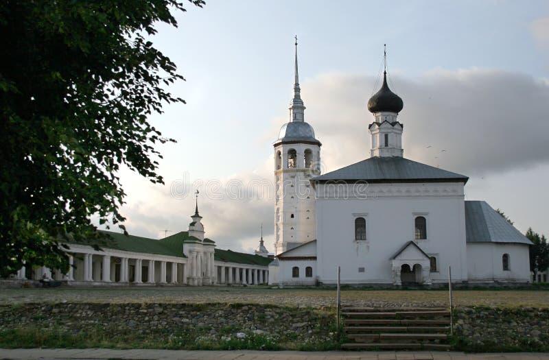 Área principal del anillo de oro de Suzdal Rusia fotografía de archivo