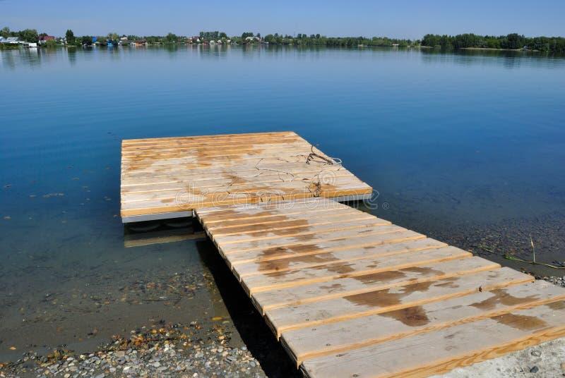 Área que nada en el lago foto de archivo libre de regalías