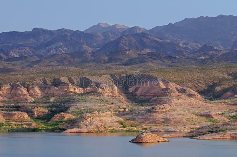 Área Recreativa Nacional Lake Mead imagenes de archivo