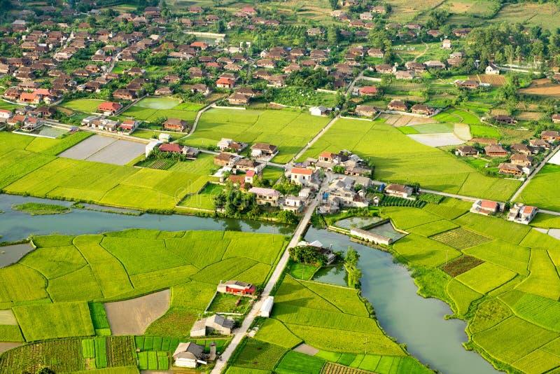 Área rural em Vietname imagem de stock