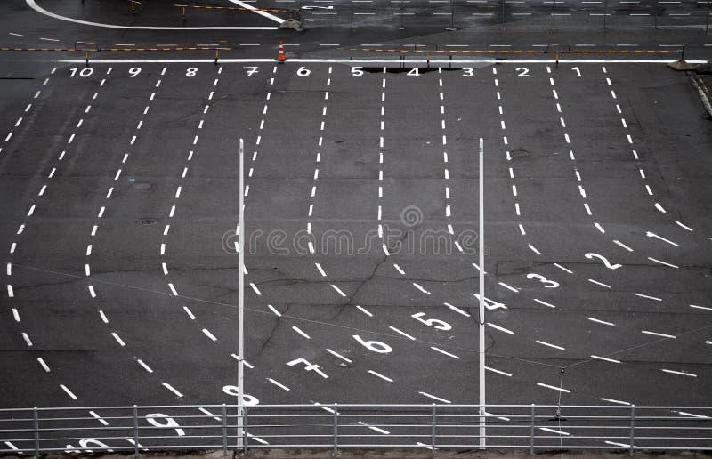 Download Área terminal de alfândega foto de stock. Imagem de asfalto - 16860062