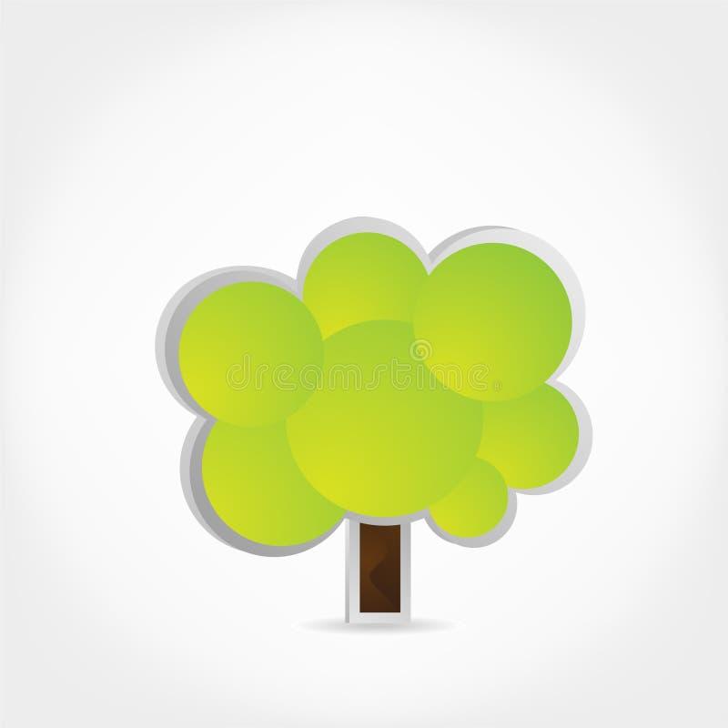 Árvore. ilustração stock