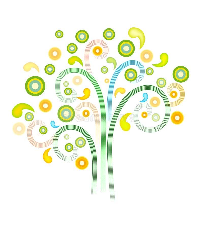 Árvore (3) .jpg ilustração stock