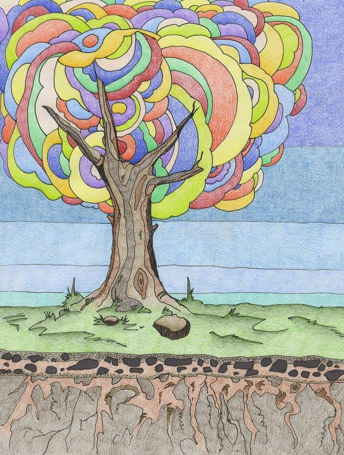 Árvore ilustração royalty free