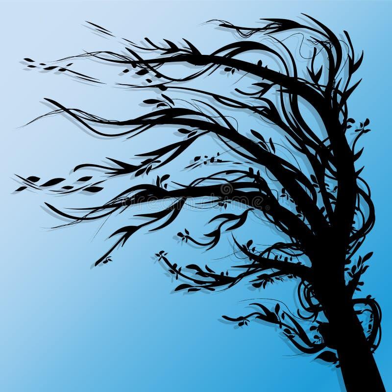 Árvore abstrata ilustração royalty free