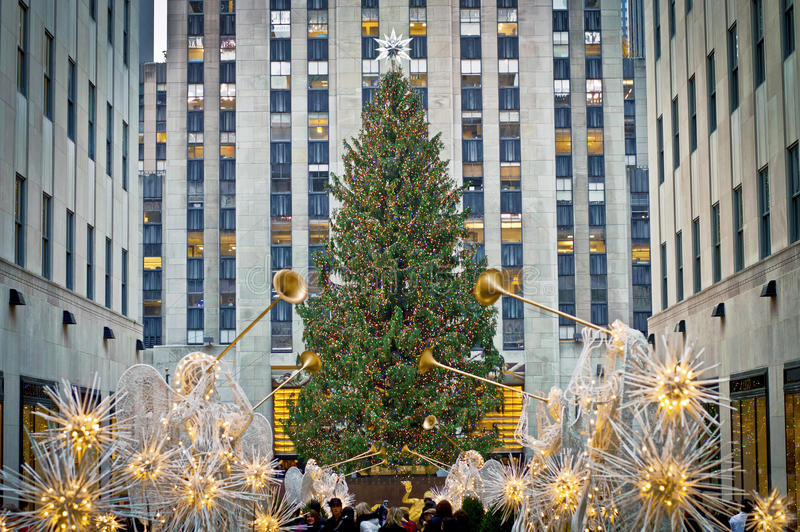 Árvore Center 2012 de Rockefeller imagem de stock royalty free