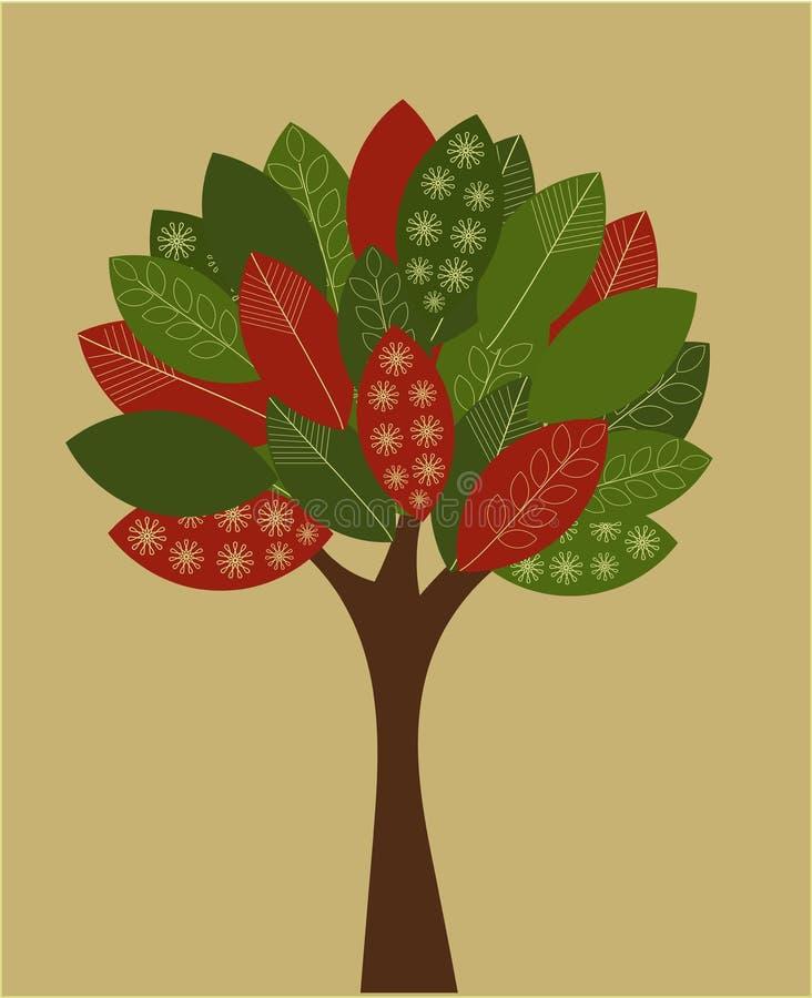 Árvore creativa ilustração do vetor