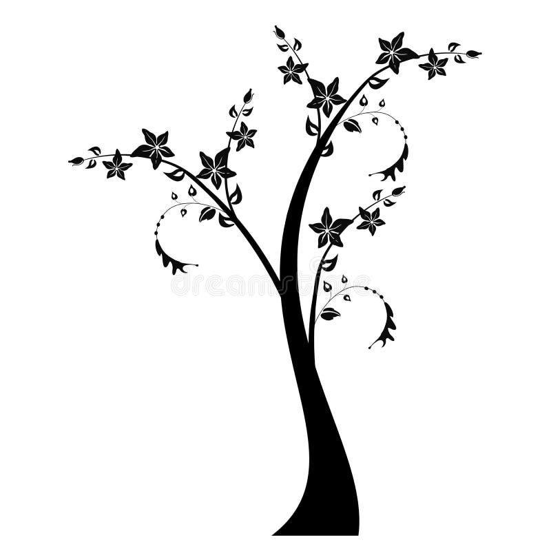 Árvore da arte ilustração stock