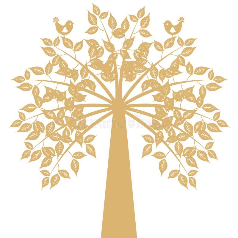 Árvore da arte ilustração royalty free