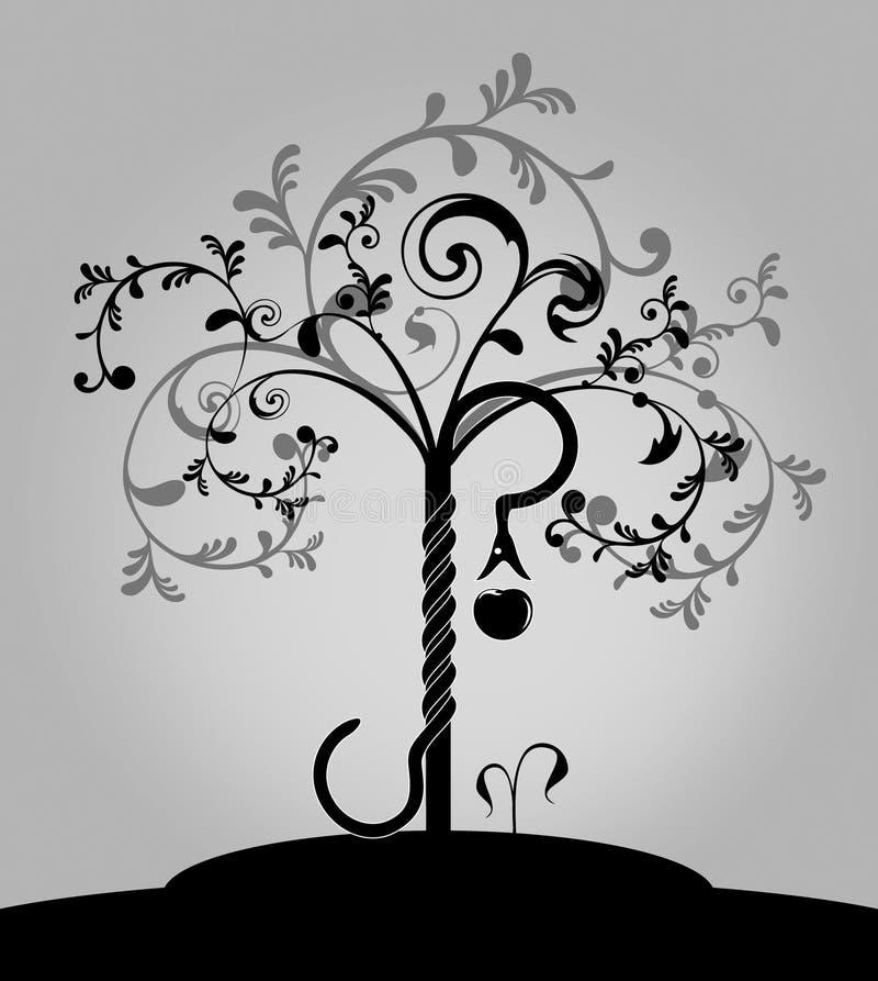 Download Árvore Da Bíblia De Conhecimento Ilustração do Vetor - Ilustração de fundo, evil: 12800677
