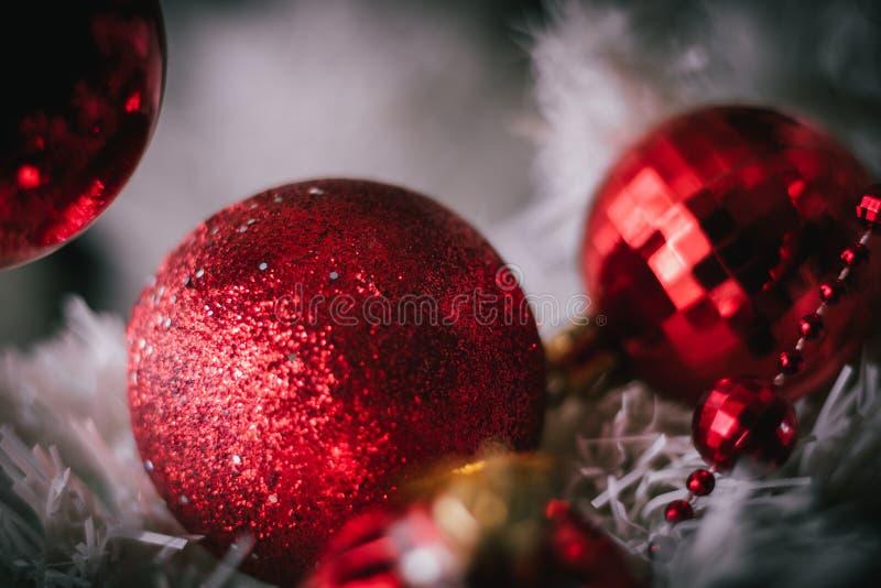 Árvore da decoração do Natal imagens de stock royalty free
