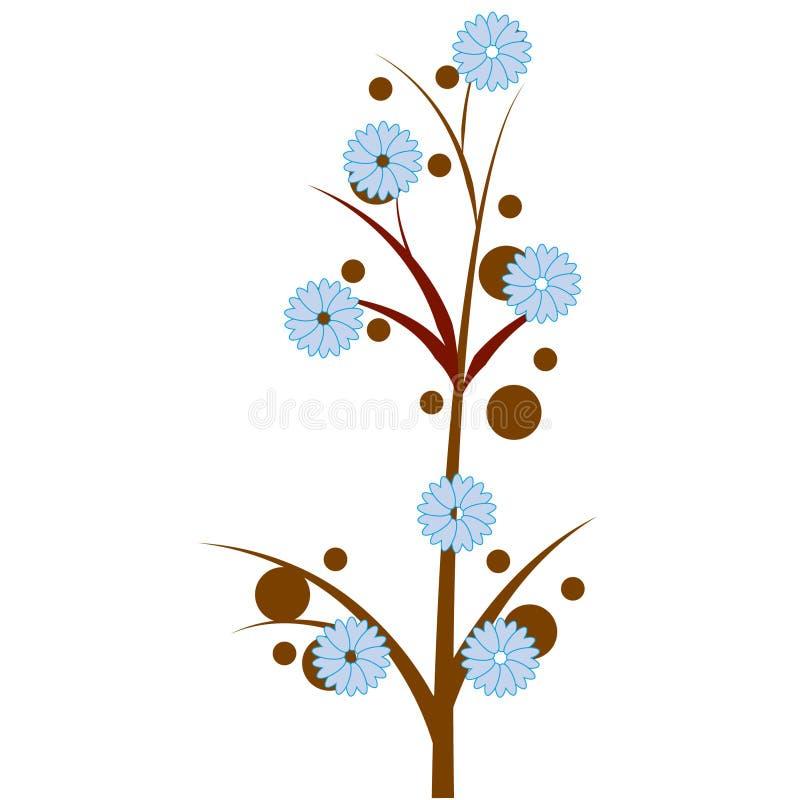 Árvore da flor ilustração stock
