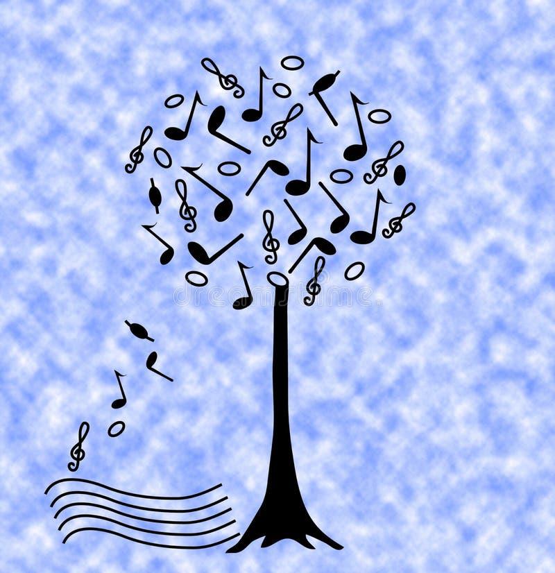Download Árvore da música ilustração stock. Ilustração de festival - 10056342