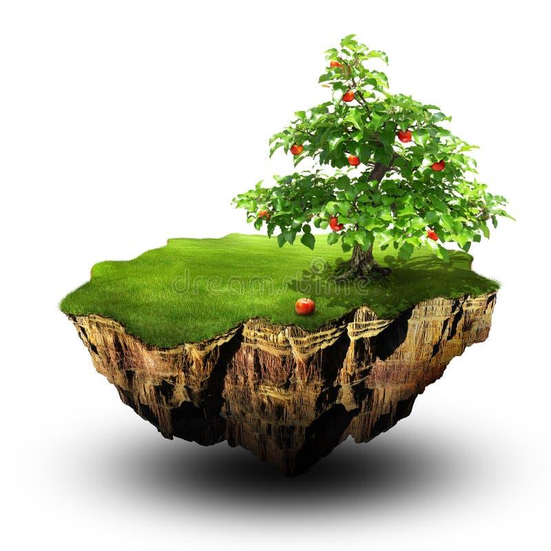 Árvore de Apple ilustração do vetor