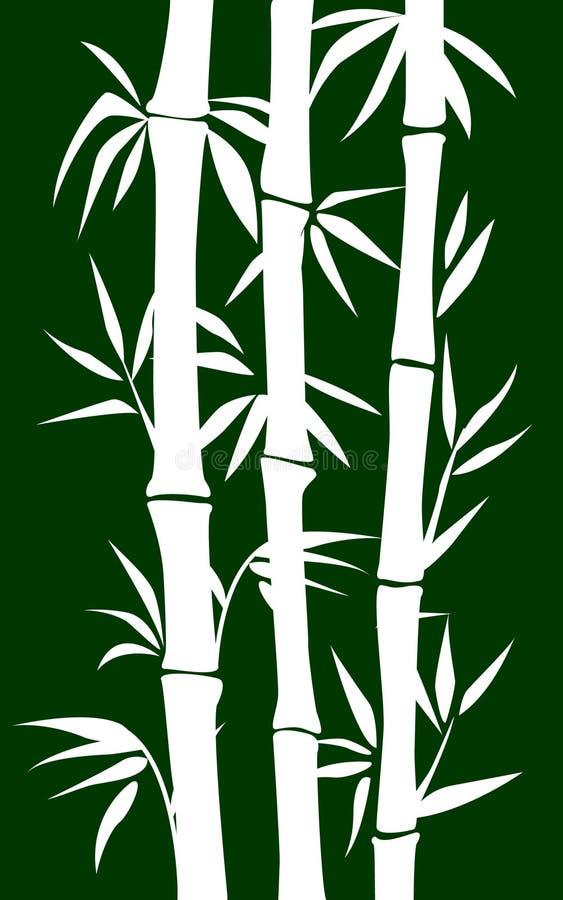 Árvore de bambu ilustração do vetor