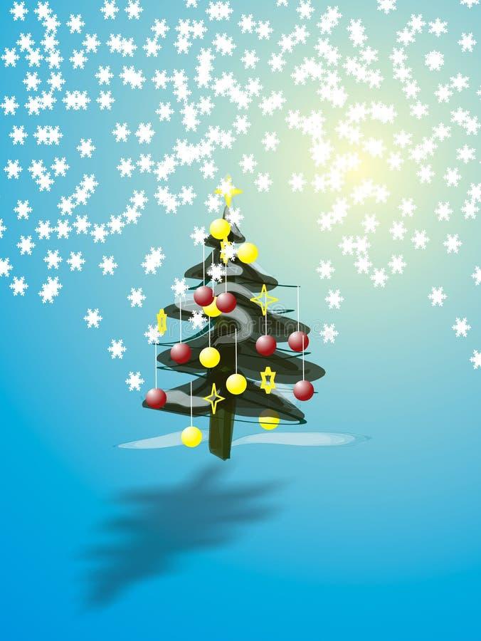 Árvore De Christmas Fotografia de Stock