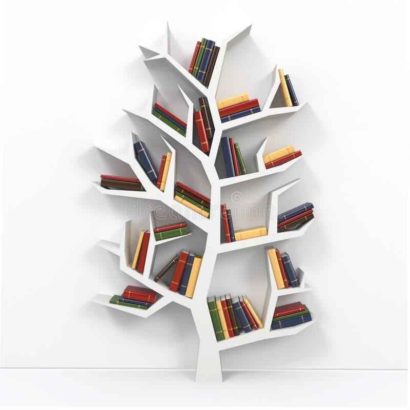 Árvore de conhecimento. ilustração royalty free