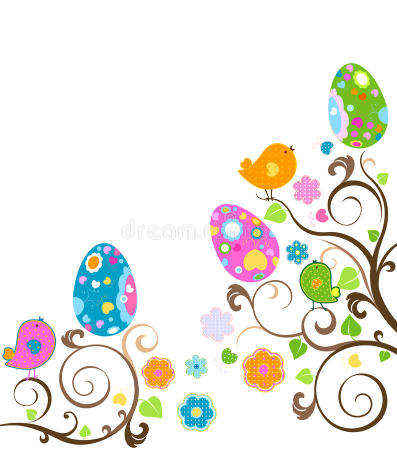 Árvore de Easter ilustração stock