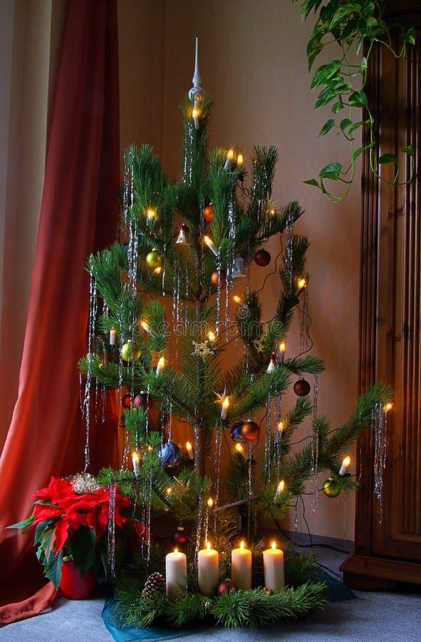 Árvore de Natal 08 foto de stock