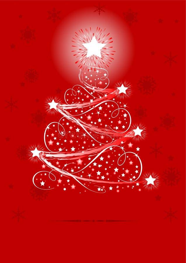 Download Árvore de Natal ilustração do vetor. Ilustração de linha - 16857880