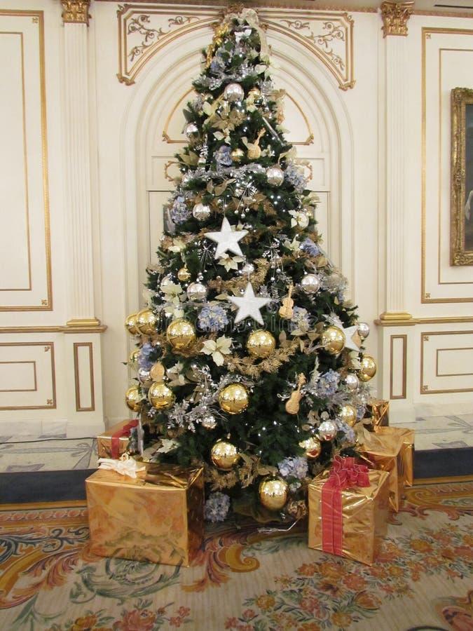 Árvore de Natal fotografia de stock