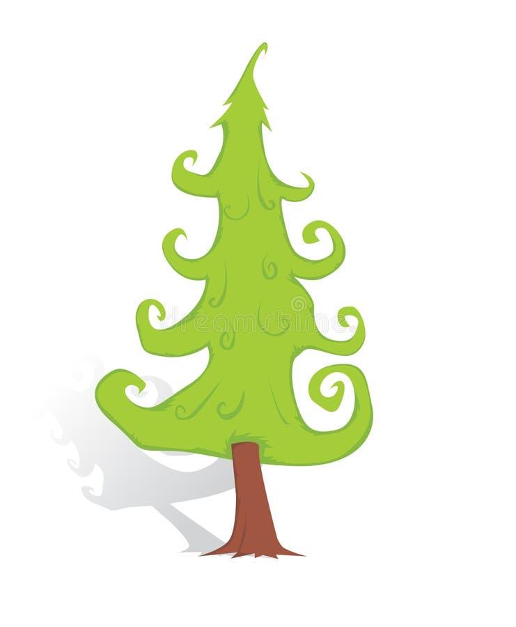 Download Árvore de Natal ilustração do vetor. Ilustração de tradicional - 29841463