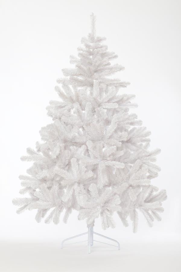 Árvore de Natal branco foto de stock