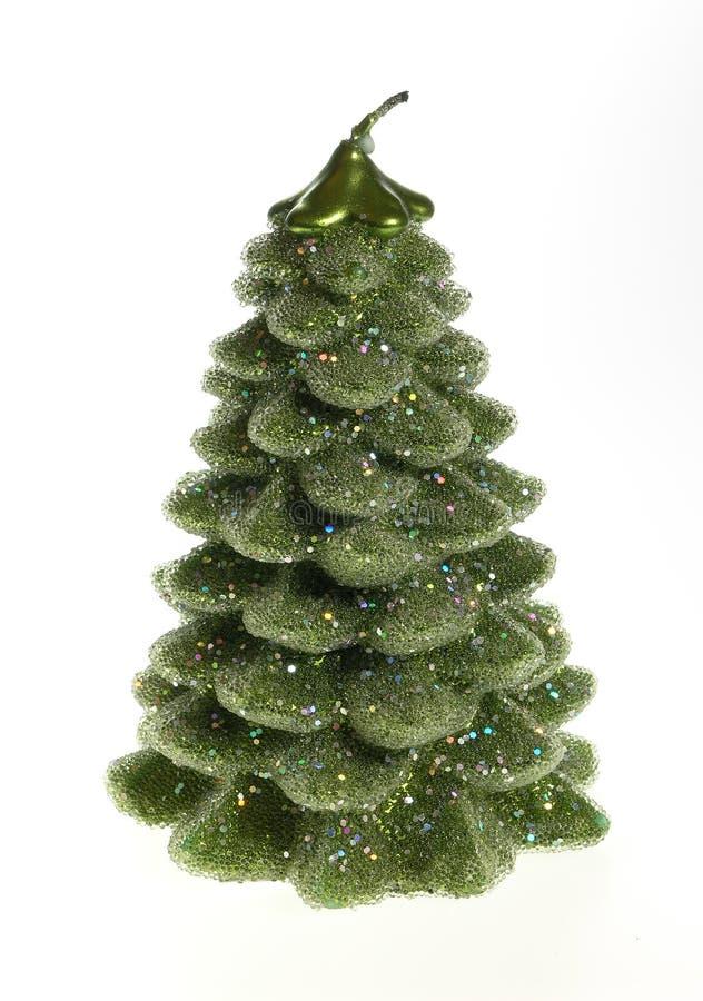 Árvore de Natal da vela fotos de stock royalty free