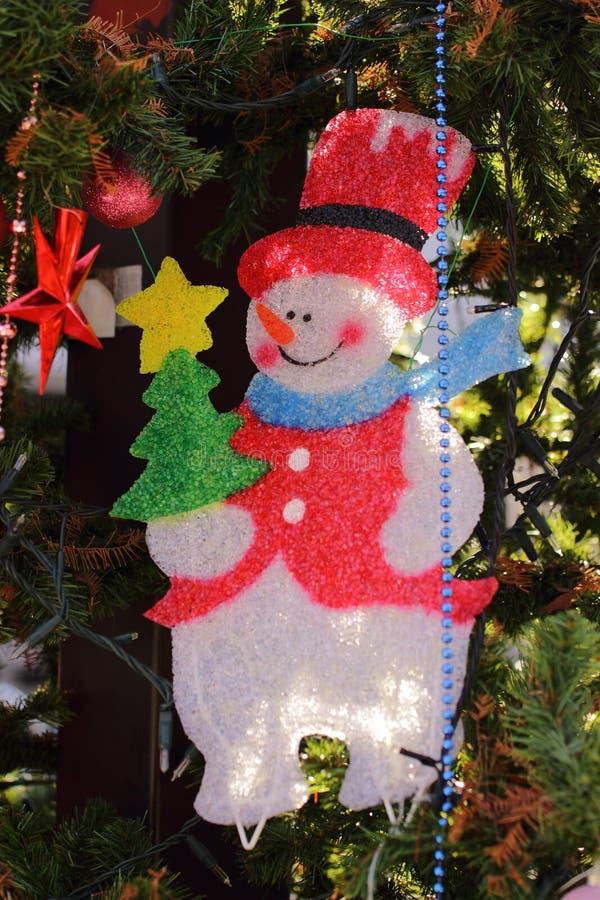 A árvore de Natal detalha 2 imagem de stock royalty free