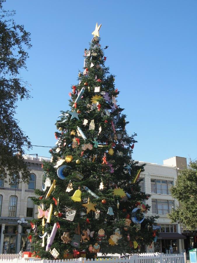 Árvore de Natal do Storybook foto de stock royalty free