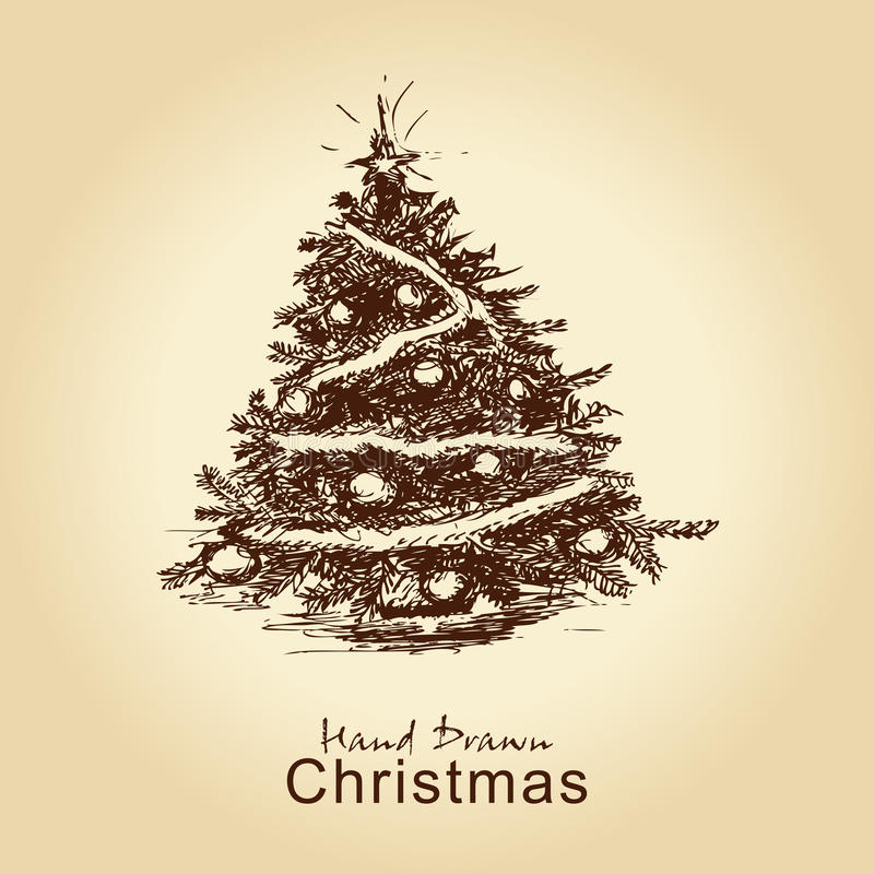 Árvore de Natal do vintage