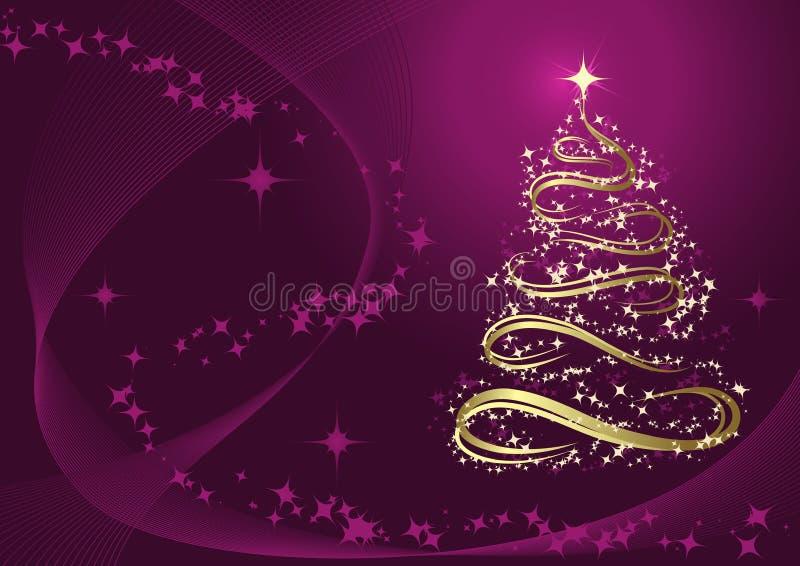 Download Árvore De Natal Dourada Abstrata Ilustração do Vetor - Ilustração de fundo, arte: 16855314