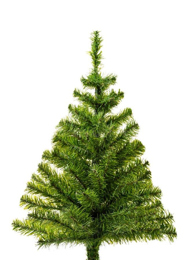 Árvore de Natal pequena pronta para decorar fotos de stock royalty free