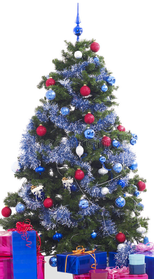 Árvore de Natal XXL imagens de stock royalty free