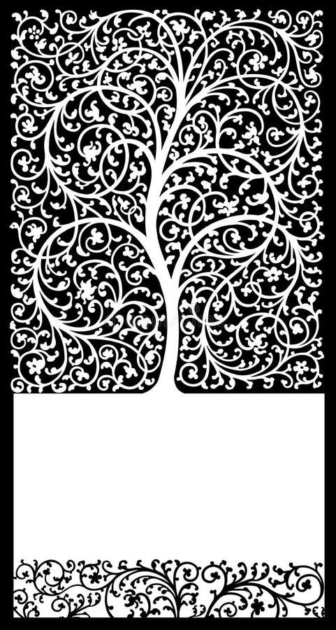 Árvore de vida ilustração do vetor