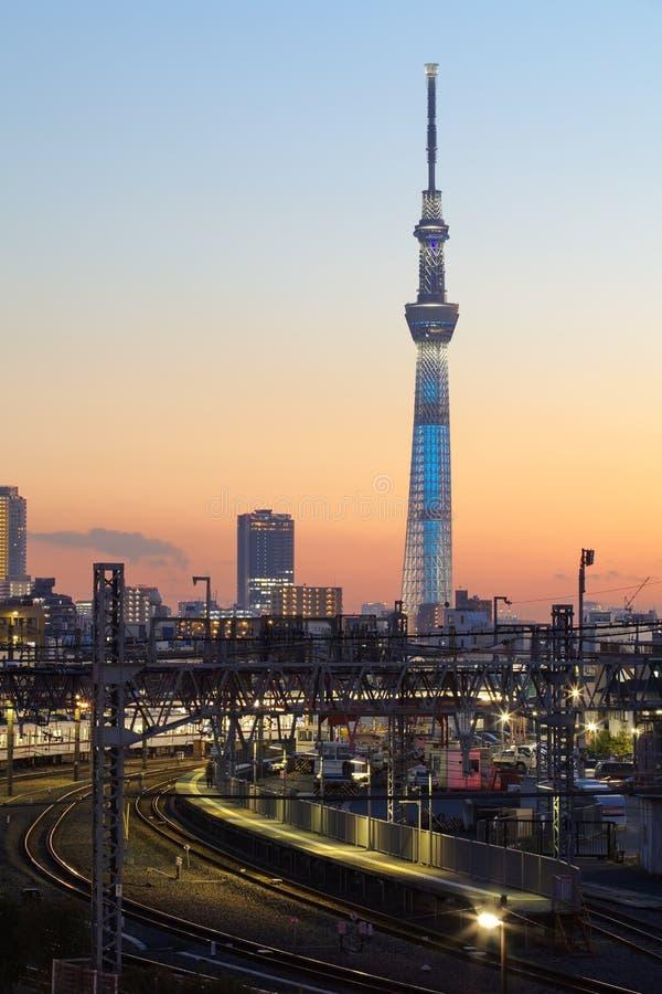 Download Árvore do céu de Tokyo imagem de stock. Imagem de ásia - 29847171