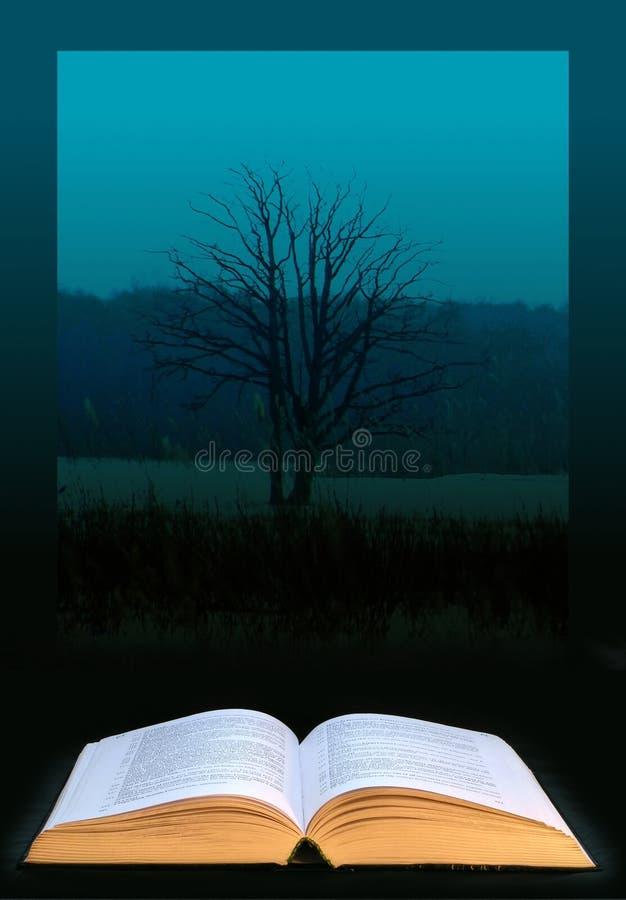 Árvore do conhecimento ilustração stock